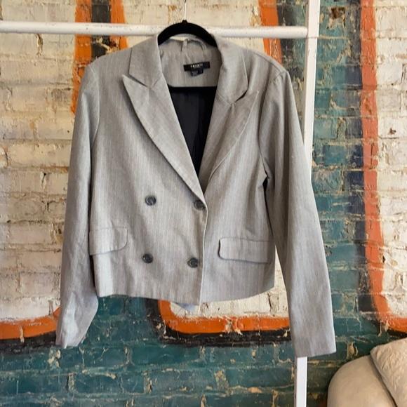 Twenty Montreal Women's Pinstripe Blazer Size L
